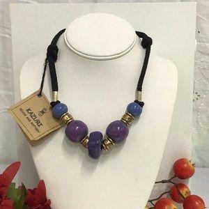 Kazuri Pottery Bead Handmade Kenyan Necklace